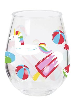 CR Gibson ***Float Double Wine Glass