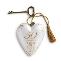 ***50 Years of Love Art Heart