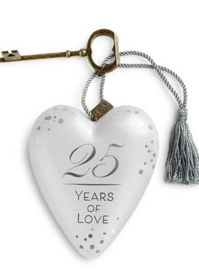 ***25 Years of Love Art Heart