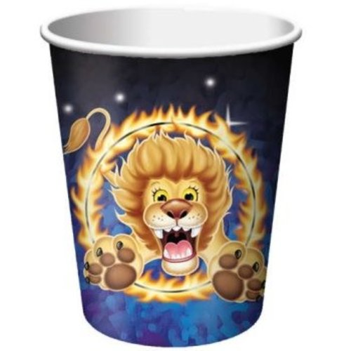 *Big Top Circus 9oz Hot/Cold Cups 8ct