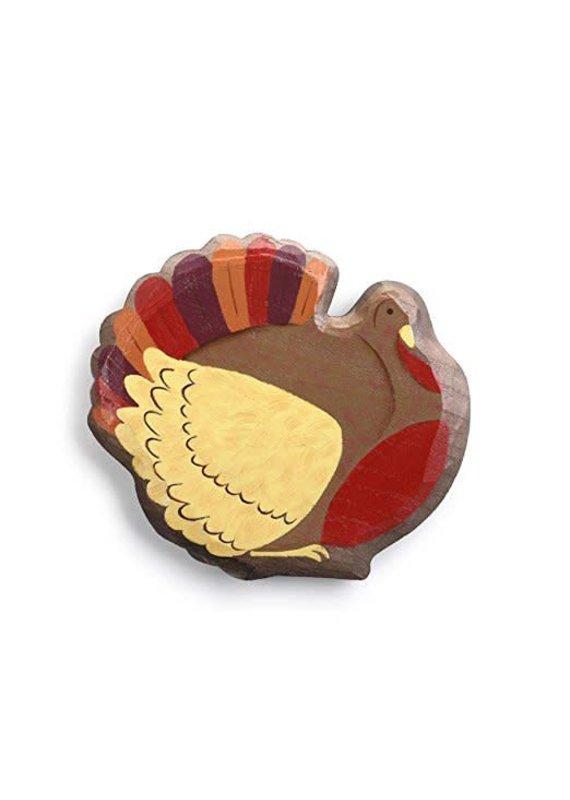 ****Turkey Magnetic Wood Token