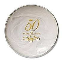 50th Anniversary Decorative Plate