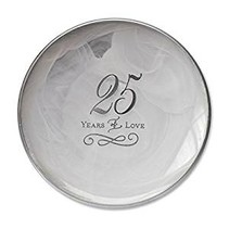 25th Anniversary Decorative Plate