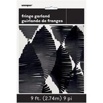 Black Fringe Garland