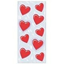 **VALENTINE HEART Lace Design CELLO BAG 25ct