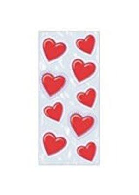 ***VALENTINE HEART Lace Design CELLO BAG 25ct