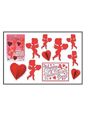 ***Valentine's Day Decorating Kit 10 pieces