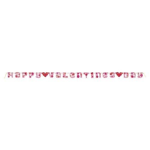 **Flower Valentine's Day Banner