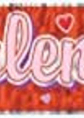 "***Happy Valentine's Day Fringe Banner 8"" x 60"""