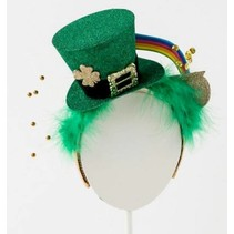 ***St. Patrick's Day Hat Headband