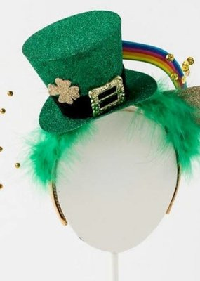 ***St. Patrick's Day Hat Headband