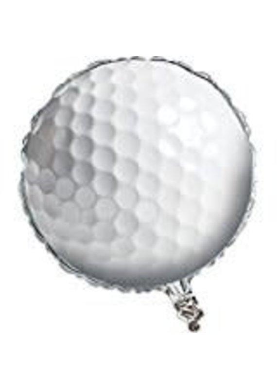 """****Golf Ball 18"""" Mylar Balloon"""