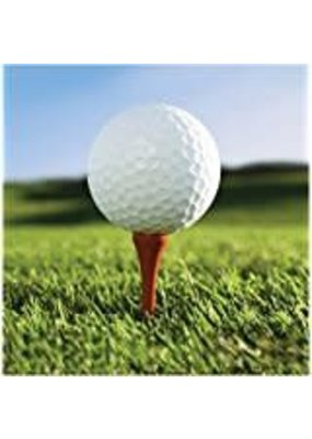 ***Sports Fanatic Golf Lunch Napkins  18ct