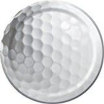 "*Sports Fanatic Golf 7"" Plates"