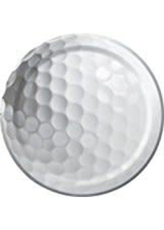 "****Sports Fanatic Golf 7"" Plates"