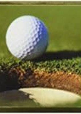 ***Golf Ball Magnetic Bookmark