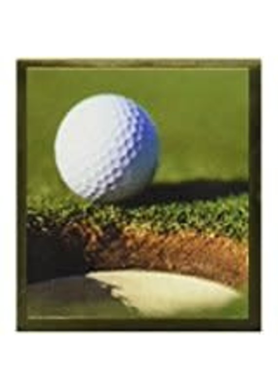 *****Golf Ball Magnetic Bookmark