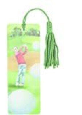 ***Golf 3D Bookmark