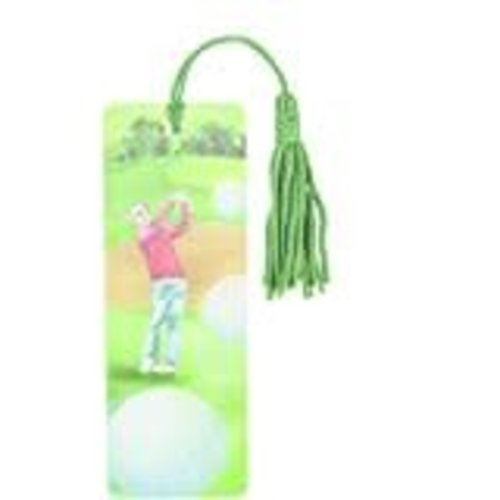 **Golf 3D Bookmark