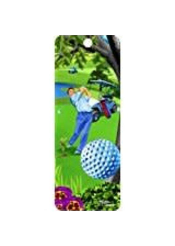 ****Golf 3D Bookmark
