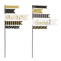 ***Graduation Pennant Cake Topper