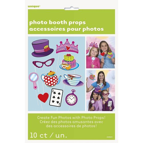 Tea Party Photo Booth Props