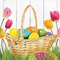 *Easter Basket Bounty Lunch Napkin 16ct