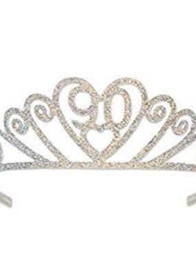 ***90 Glittered Tiara