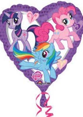 ***My Little Pony Heart Shape Mylar Balloon
