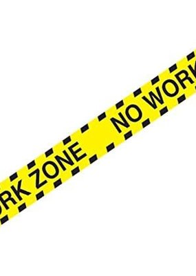 ***No Work Zone Party Tape