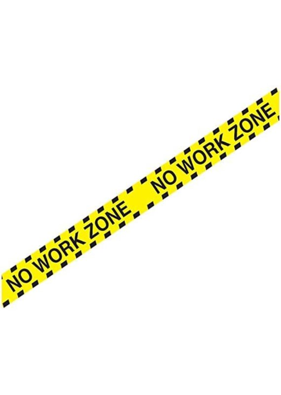 ****No Work Zone Plastic  Party Tape 20ft