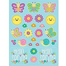Hello Spring Stickers