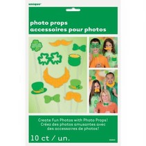 ***St. Patrick's Day Photo Props
