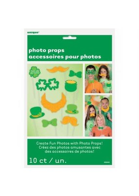 ***St. Patrick's Day Photo Props 10ct