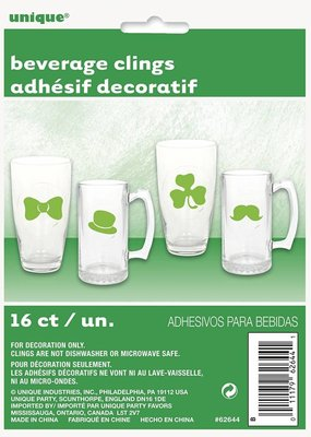 ***Saint Patrick's Day Beverage Clings