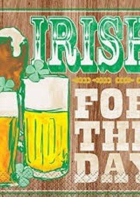 ***Irish for the Day Beverage Napkins 16ct