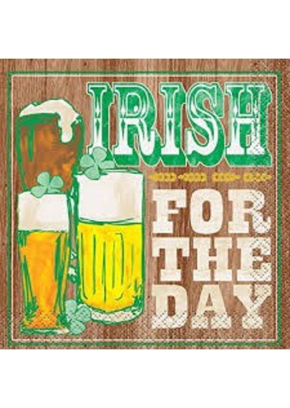 ****Irish for the Day Beverage Napkins 16ct