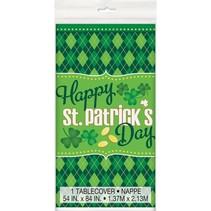 ***Tablecover Argyle St. Patrick's Day