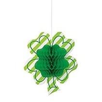 ***Shamrock Honeycomb Hanging Decoration