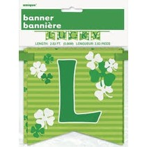 ***St. Patrick's Day Lucky Banner