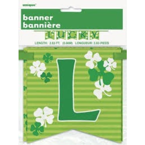 St. Patrick's Day Lucky Banner