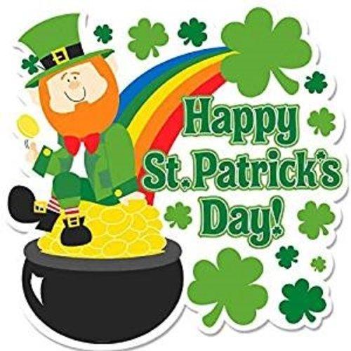 St. Patrick's Day Rainbow Cutout