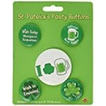 ***Irish Party Buttons