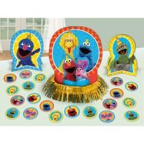 ***Sesame Street Table Decorating Kit