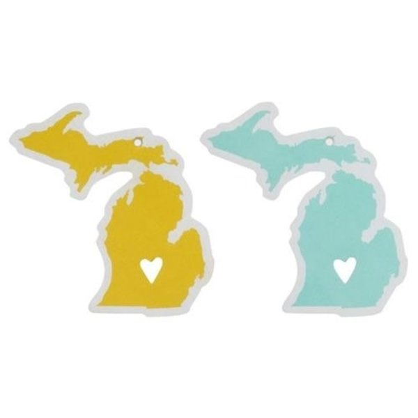 About Face Designs State of Mine Car Air Freshners Michigan
