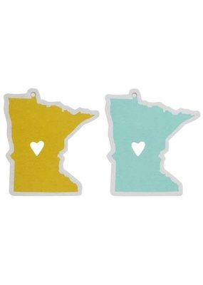 About Face Designs ***State of Mine Car Air Freshners Minnesota