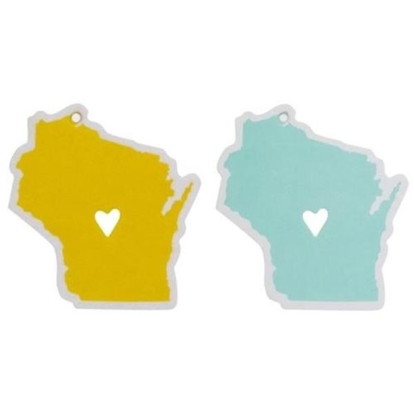 About Face Designs State of Mine Car Air Freshners Wisconsin