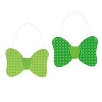 ***St. Patrick's Day Paper Bow Ties