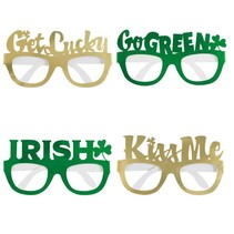 ***Saint Patrick's Day Paper Glasses