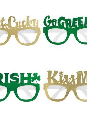 ***Saint Patrick's Day Paper Glasses